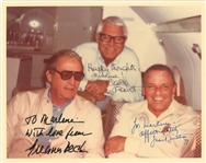 Frank Sinatra, Carey Grant and Gregory Peck Signed Photo (Beckett)
