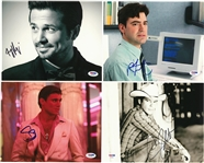 Lot of (15) Hollywood Actors/Actresses Single Signed 8x10 Photographs (PSA/DNA)