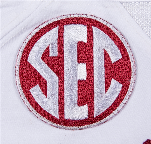 newest 7bb55 a0ba7 Lot Detail - 2016 Bo Scarbrough Game Used Alabama Crimson ...