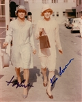 "Tony Curtis and Jack Lemmon Dual Signed ""Some Like it Hot"" 8x10 Color Photograph (JSA)"