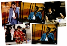 "Lot of (5) Al Pacino Signed Assorted ""Scarface"" 16x20 Photos (PSA/DNA)"