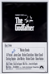 "Al Pacino Autographed ""The Godfather"" 27x40 Movie Poster (PSA/DNA)"