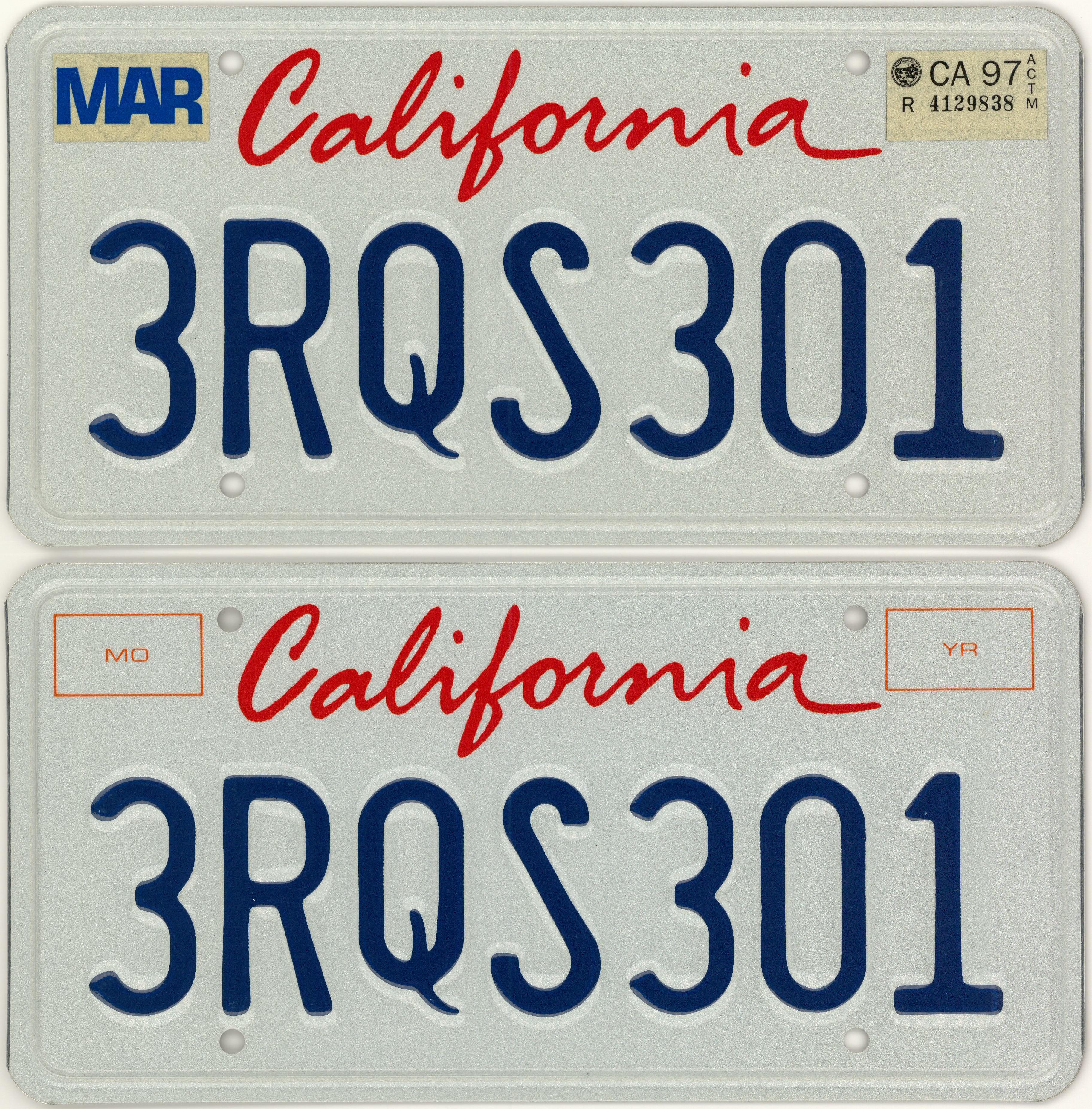lot detail tupac shakur rolls royce california license plates and registration letter of. Black Bedroom Furniture Sets. Home Design Ideas