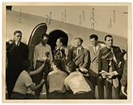 "Howard Hughes Signed 1938 Flight Around The World 8"" x 10"" Photograph (PSA/DNA)"