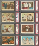 "1959 Fleer ""Three Stooges"" PSA-Graded Near Set (93/96) Including Twenty-Five PSA MINT 9 Examples!"