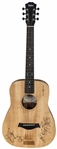 Tim McGraw, Keith Urban & Kix Brooks Multi Signed Baby Taylor Four Christmases Sonic Style Guitar (JSA)