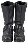 Daisy Berkowitz Personally Owned & Concert Worn Black Boots (Family LOA)