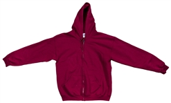 Daisy Berkowitz Owned & Worn Red Hoodie (Family LOA)