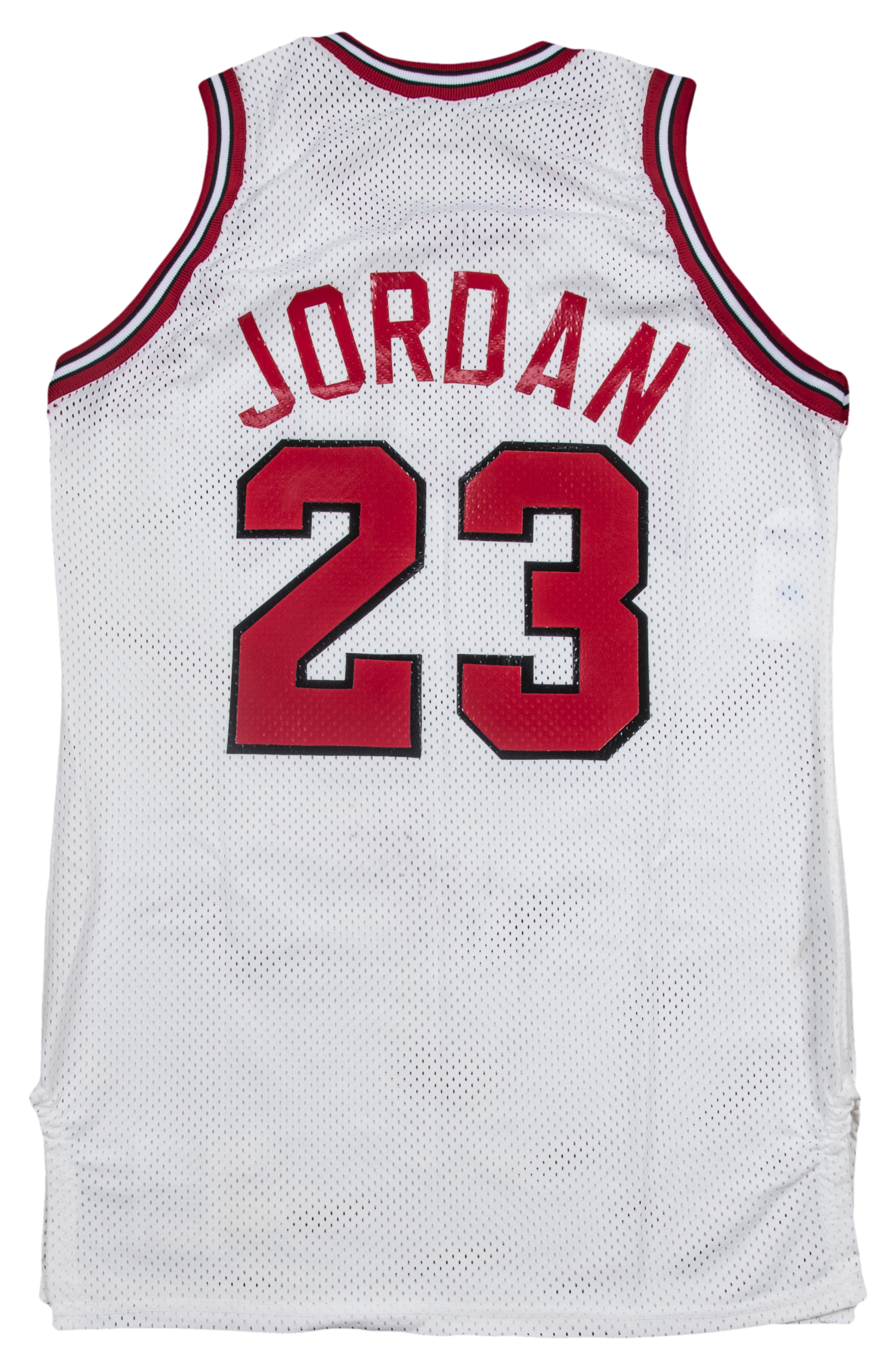 4c4d8f08a21878 1988-89 Michael Jordan Game Used   Signed Chicago Bulls Home Jersey -  Earliest Known. Prev Next