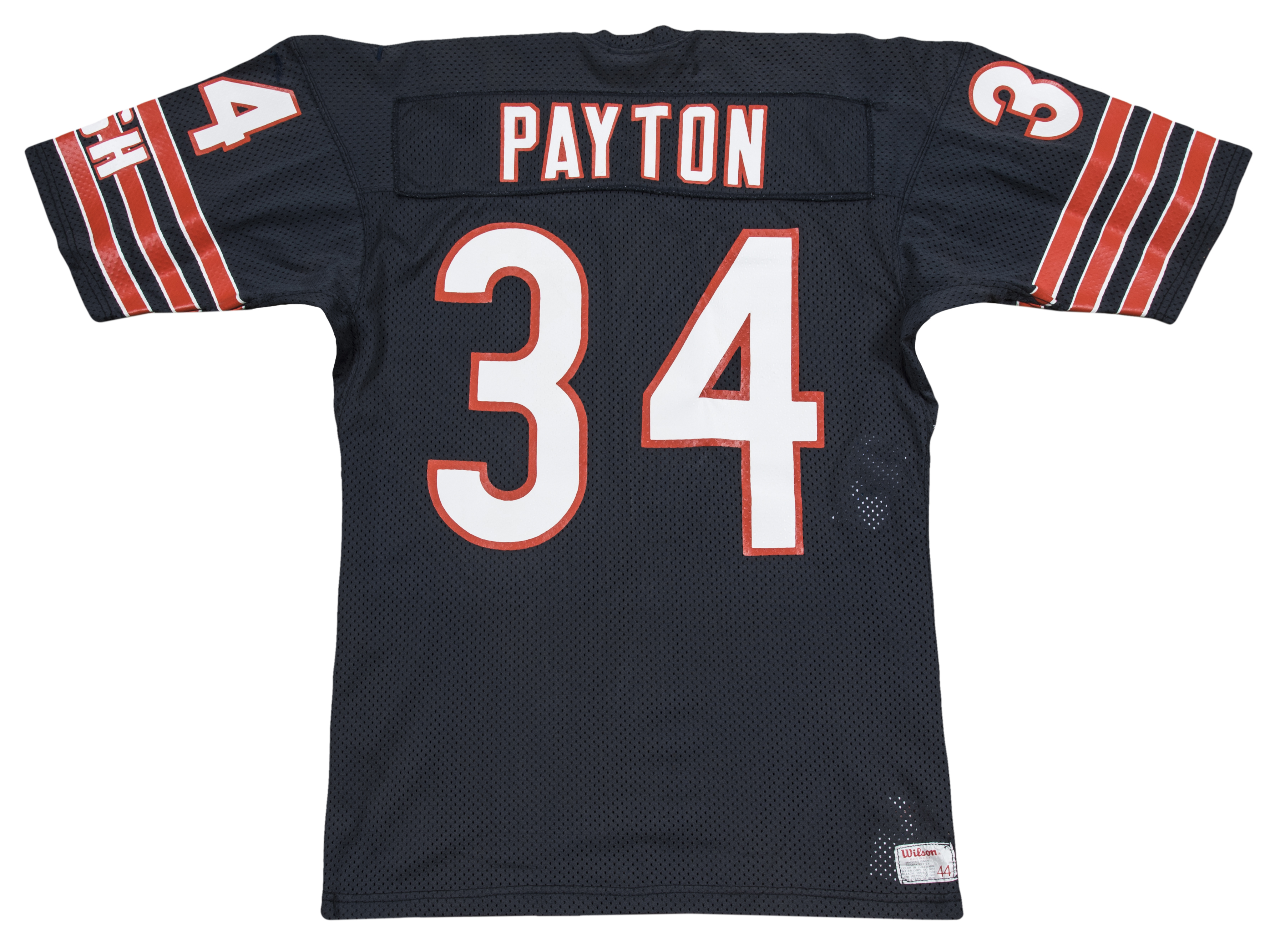 480703dbddd 1984-1987 Walter Payton Game Used Chicago Bears Home Jersey Displaying Over  A Dozen Team. Hover to zoom