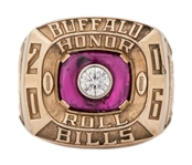 2006 Andre Reed Buffalo Bills Team Honor Roll Ring (Reed LOA)