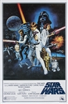 "1977 ""Star Wars"" One-Sheet Movie Poster"
