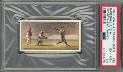 "1929 W.A. & A.C. Churchman ""Sports & Games In Many Lands"" #25 Babe Ruth – PSA EX-MT+ 6.5"
