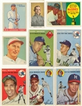 1910-1991 Topps and Assorted Brands Multi-Sports Collection (65) Including Hall of Famers