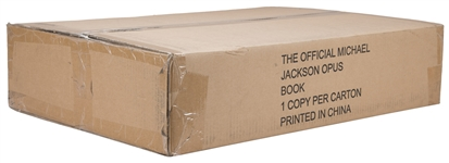 The Official Michael Jackson Opus Book Sealed In Original Box