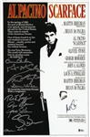 """Scarface"" Cast-Signed 12x18 Photo With 10 Signatures Including Pacino, Loggia & Bauer (Beckett)"