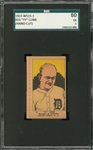 "1923 W515-1 Anonymous #10 Ty Cobb, Hand Cut – SGC 60 EX 5 ""1 of 1!"""