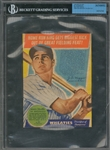 "1938 Wheaties Series 10 ""Biggest Thrills Of Baseball"" #11 Joe DiMaggio Panel – BGS Authentic"
