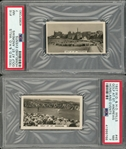 "1927 and 1932 W.D. & H.O. Wills ""Homeland Events"" High Grade Complete Sets Pair (2 Different) – Featuring Bobby Jones, Primo Carnera and Tennis at Wimbledon"