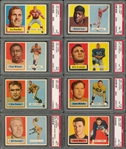 1957 Topps Football Partial Master Set (108/158) - #20 on the PSA Set Registry!