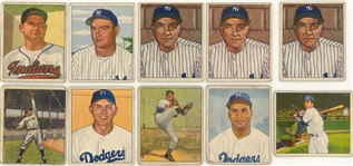 1950 Bowman Collection (297) Including Hall of Famers
