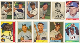 1940s-1960s Topps and Assorted Brands Collection (200+) Including Hall of Famers