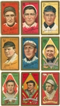 1911 T205 Gold Border Collection (9 Different) Including Hall of Famers