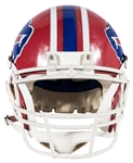 Andre Reed Game Used & Photo Matched Original Buffalo Bills Helmet (Reed LOA & Resolution Photomatching)