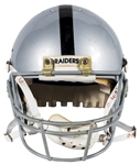 Tim Brown Game Used Oakland Raiders Helmet (Letter of Provenance)