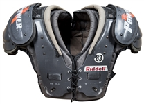 Andre Reed Game Used Riddell Shoulder Pads (Reed LOA)