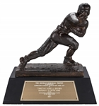 1987 Heisman Trophy Presented To Tim Brown of Notre Dame - The First Ever Wide Receiver To Win The Award & 1 of 9 Pro Football Hall of Famers To Win The Heisman! (Tim Brown LOA)