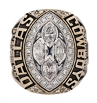 1993 Dallas Cowboys Super Bowl XXVIII Champions Player Ring - Presented To Dixon Edwards (Edwards LOA)