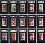 "1910 E98 ""Set of 30"" Near Set (25/30) Plus Nine Color Variations - #1 on the SGC Set Registry! - An Incredibly High-Grade, Nationally Famous Offering!"