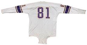 1964-65 Carl Eller Rookie Era Game Used, Signed & Inscribed Minnesota Vikings Road Jersey (MEARS A9 & Beckett)