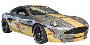 "2002 Aston Martin Vanquish ""One of One"" Signature Car - 50th Anniversary of Basketball Hall of Fame Including 99 Signatures (JSA & Naismith Hall of Fame LOA)"