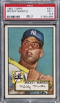 1952 Topps #311 Mickey Mantle Rookie Card – PSA EX+ 5.5
