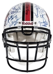 Football Hall of Famers Multi Signed Hall of Fame Full Sized Helmet With 26 Signatures (JSA)