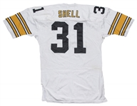 1982 Donnie Shell Game Used Pittsburgh Steelers Road Jersey (Shell LOA)