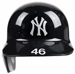 2012 Andy Pettitte Game Used New York Yankees Batting Helmet (MLB Authenticated & Steiner)