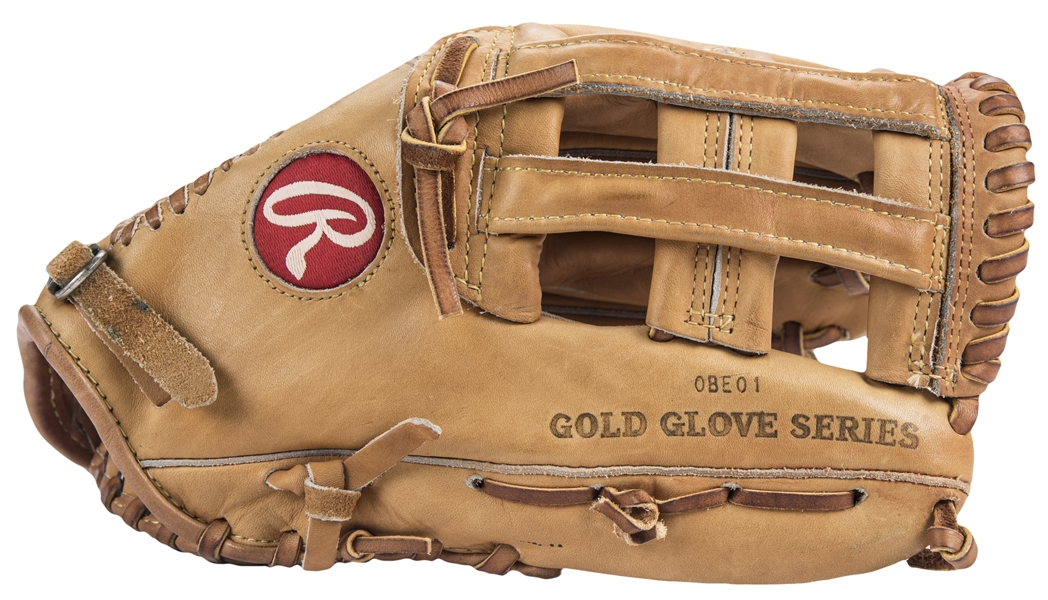 1987 Andre Dawson Game Used & Signed Rawlings Pro HF Model Fielders Glove (PSA/DNA & Beckett)