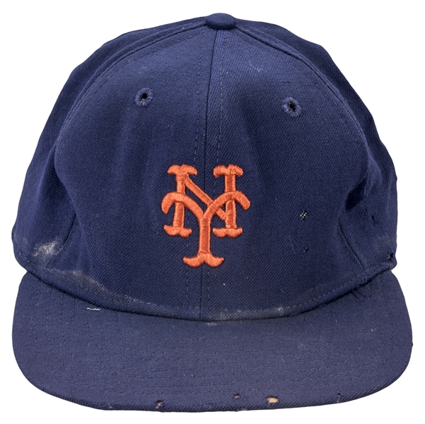 Circa 1969 Tom Seaver Game Used & Signed New York Mets Cap (JT Sports & Beckett)