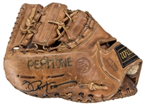 Circa 1970 Joe Pepitone Game Used & Signed Wilson A2812-962 Fielders Glove (PSA/DNA & JSA)