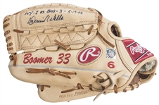 2003 David Wells Game Used & Signed Rawlings Pro504DHKSO Fielders Glove (MEARS & Beckett)