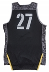 2017 Zion Williamson Game Used Adidas Nations Jersey Photo Matched To 8/6/2017 EARLIEST EXISTING PHOTO MATCHED ZION JERSEY!(Resolution Photomatching)