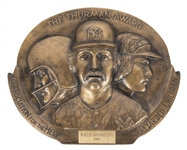 1989 Thurman Munson Award Presented to Willie Randolph (Randolph LOA)