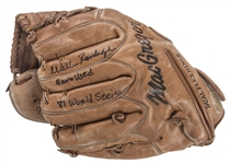 1981 Willie Randolph Game Used, Signed & Inscribed World Series MacGregor Fielding Glove (Randolph LOA)