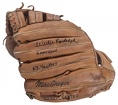 1980s Willie Randolph Game Used and Signed MacGregor Fielding Glove (Randolph LOA)