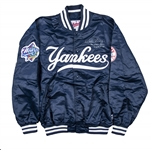 1998 Willie Randolph Game Used and Signed New York Yankees World Series Windbreaker (Randolph LOA)