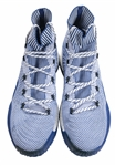 2017 Andrew Wiggins Game Used Minnesota Timberwolves Adidas Crazy Explosive PK 2017 Sneakers Photo Matched To 3 Games (Resolution Photomatching)