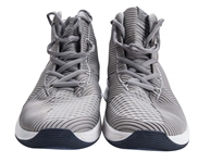 2018 Derrick Rose Game Used Minnesota Timberwolves Adidas D Rose 9 Sneakers Photo Matched To 12/12/2018 (Resolution Photomatching)